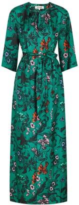 Diane von Furstenberg Caris floral-print silk maxi dress