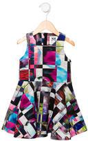 Milly Minis Girls' Digital Print Dress