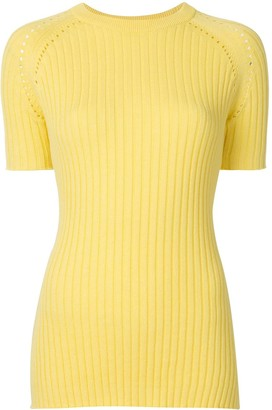 ANNA QUAN Billie ribbed-knit top