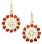 Nanette Lepore Floral Drop Earrings