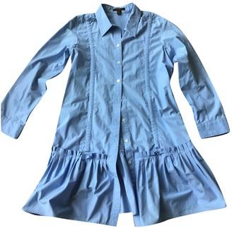 Louis Vuitton Blue Cotton Dresses