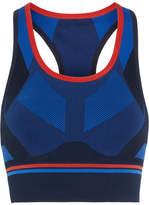 LNDR - Hustle Stretch-knit Sports Bra - Navy