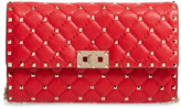 Rockstud Matelasse Quilted Leather Crossbody Bag
