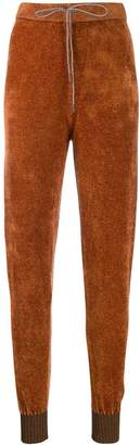 Fabiana Filippi drawstring track trousers