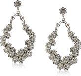 Azaara Crystal Normandie -Tone and Swarovski Crystal Drop Earrings