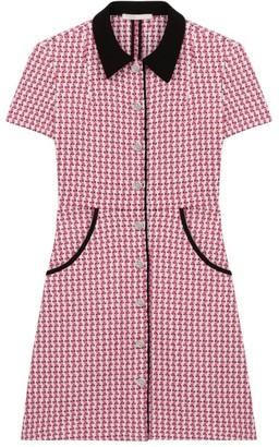 Maje Renatya Mini Tweed Shirtdress