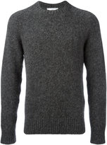 Ami Alexandre Mattiussi oversized raglan sleeves crew neck sweater - men - Polyamide/Wool/Alpaca - M