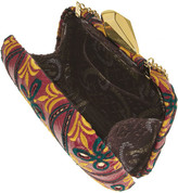 Kotur Morley embroidered elaphe box clutch