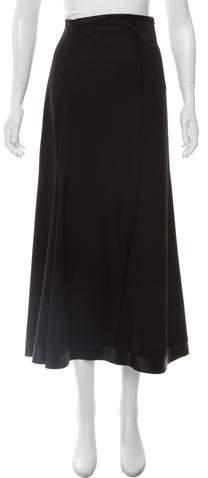 Ellery Flared Midi Skirt