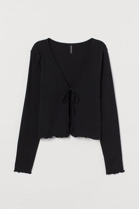H&M Cotton jersey cardigan