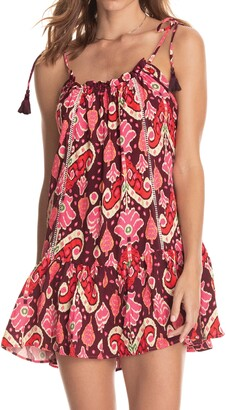 Maaji Magnolia Cover-Up Minidress