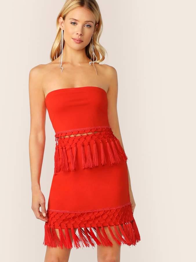 ff062ba82 Bandeau Skirt Set - ShopStyle