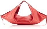 3.1 Phillip Lim Scarlet Leather Luna Mini Slouchy Hobo Bag