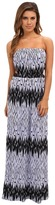 T-Bags LosAngeles Tbags Los Angeles Tube Maxi Dress w/ Side Cutouts