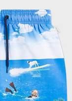 Boys' 2-6 Years 'Sea Creature' Print Swim Shorts