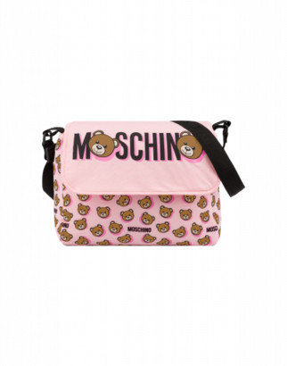 Moschino Teddy Shadow Mommy Bag Unisex Pink Size Single Size