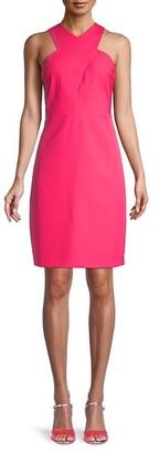 Sam Edelman Halterneck Sheath Dress