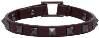 Valentino Purple Garavani Rockstud Bracelet