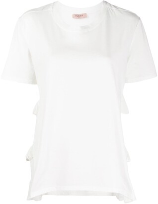 Twin-Set tiered panel T-shirt