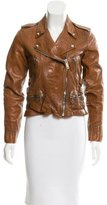Golden Goose Deluxe Brand Leather Moto Jacket