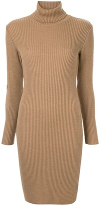 Fendi Pre Owned Long Sleeve One Piece Dress