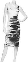 Doubleknit Watercolor Tank Dress