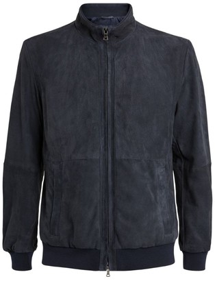 Paul & Shark Suede Perforated Jacket