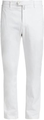 Kiton Straight-Leg Stretch Pants