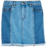Bardot Junior Girls' Cara Contrast Denim Skirt