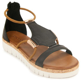275 Central - 7903 - Leather Wedge sandal