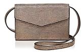 Street Level Metallic Embossed Belt Bag
