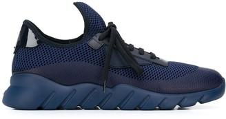 Fendi mesh low-top sneakers