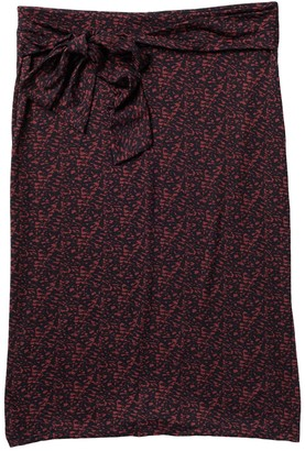 Halogen Tie Front Pencil Skirt (Regular & Petite)