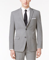 Alfani Men's Slim-Fit Gray Mini-Pinstripe Jacket, Created for Macy's