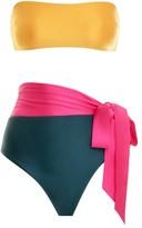 Zimmermann Bellitude Colour Block Bikini