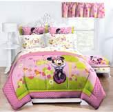 Disney Minnie Bowtique Garden Party Midweight Down Alternative Comforter