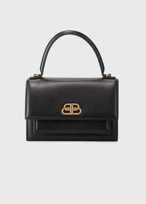 Balenciaga Sharp XS Smooth Box Top-Handle Bag