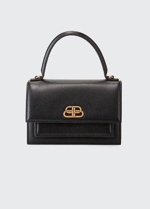 Balenciaga Sharp XS Smooth Box Top-Handle Bag