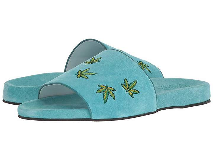 Del Toro Suede Pool Slide Men's Sandals