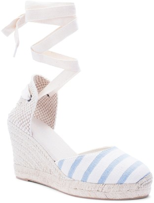 Soludos Wedge Lace-Up Espadrille Sandal