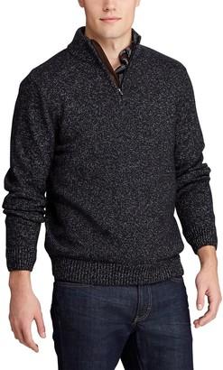 Chaps Men's Classic-Fit Zip Neck Sweater
