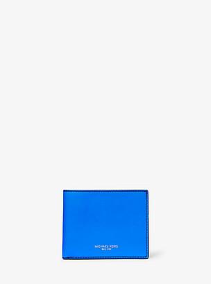 Michael Kors Brooklyn Slim Leather Billfold Wallet