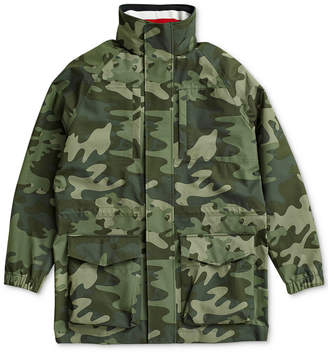 Tommy Hilfiger Adaptive Men Camo Jacket with Magnetic Closure