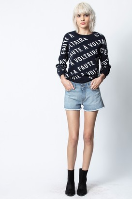 Zadig & Voltaire Anouck Voltaire Jacquard Sweater