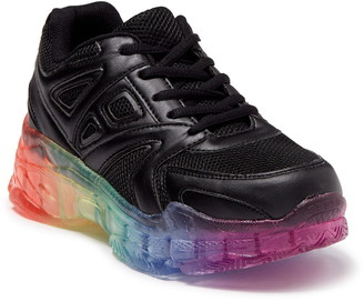 Wanted Brisk Chunky Rainbow Sole Sneaker