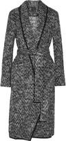 Marissa Webb Brighton brushed-felt coat