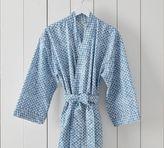 Pottery Barn Jerrie Print Kimono Robe