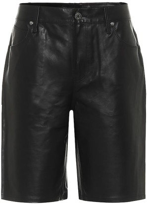 RtA Jami leather shorts
