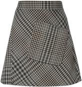 Etro houndstooth pattern skirt - women - Viscose/Wool - 40