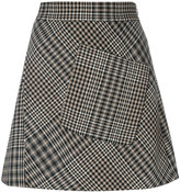 Etro houndstooth pattern skirt